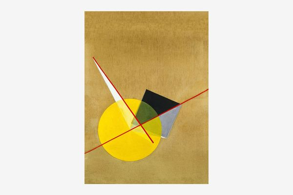 Laszlo Moholy-Nagy – Yellow Circle