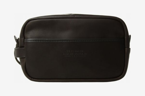Filson Weatherproof Leather Travel Kit