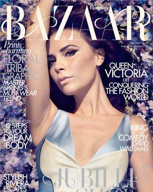 Victoria Beckham for <em>Harper's Bazaar</em> UK.