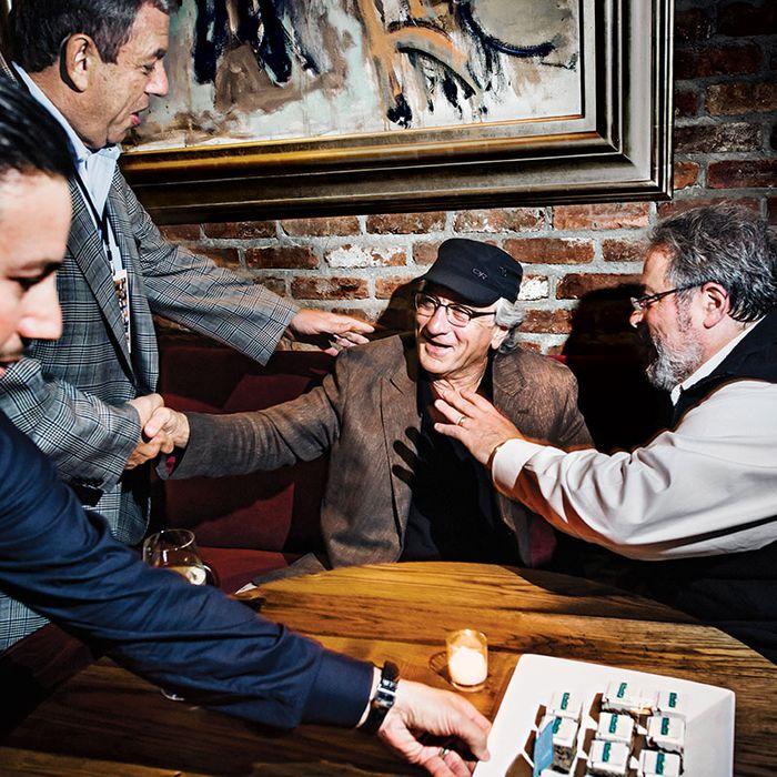 Robert De Niro and Drew Nieporent opened Tribeca Grill together in 1990.