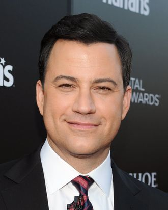 TV show host Jimmy Kimmel attends Escape to Total Rewards at Hollywood & Highland Center on March 1, 2012 in Hollywood, California.