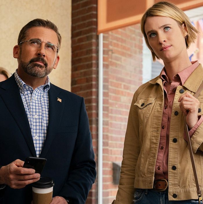 After years drifting toward drama, Steve Carell made a movie with Jon Stewart and a show with the