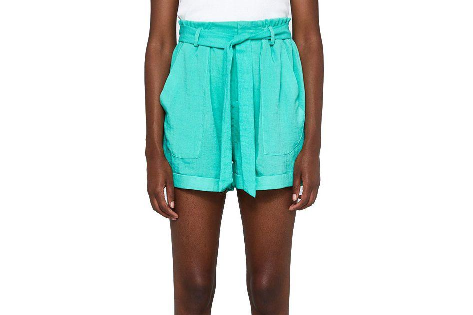Farrow Helene Front-Tie Short