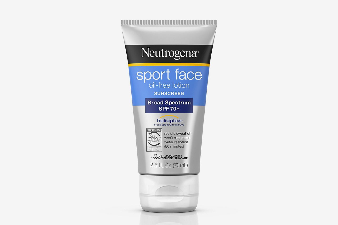 Neutrogena Ultimate Sport Face Oil-Free Lotion Sunscreen, SPF 70+