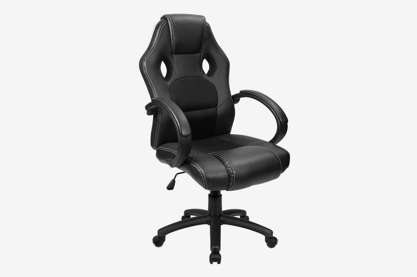 furmax black office drafting chair