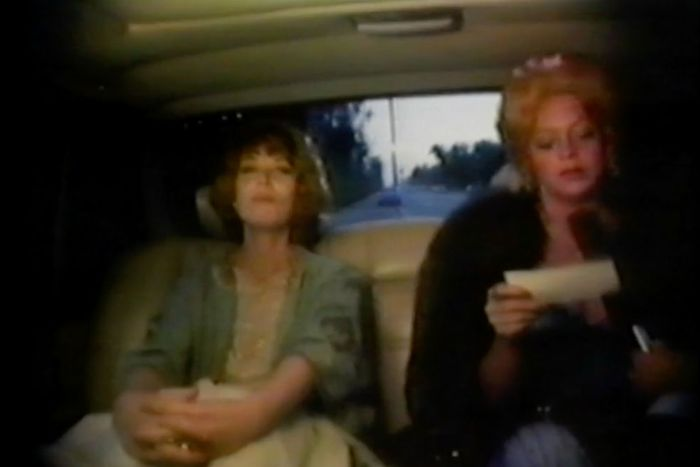 Lee Grant and Goldie Hawn.