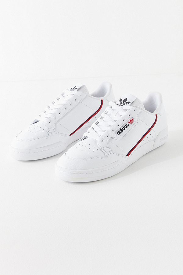 adidas Originals Continental 80 White Trainers - Women's