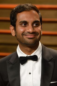 WEST HOLLYWOOD, CA - MARCH 02:  Actor Aziz Ansari attends the 2014 Vanity Fair Oscar Party hosted by Graydon Carter on March 2, 2014 in West Hollywood, California.  (Photo by Pascal Le Segretain/Getty Images)