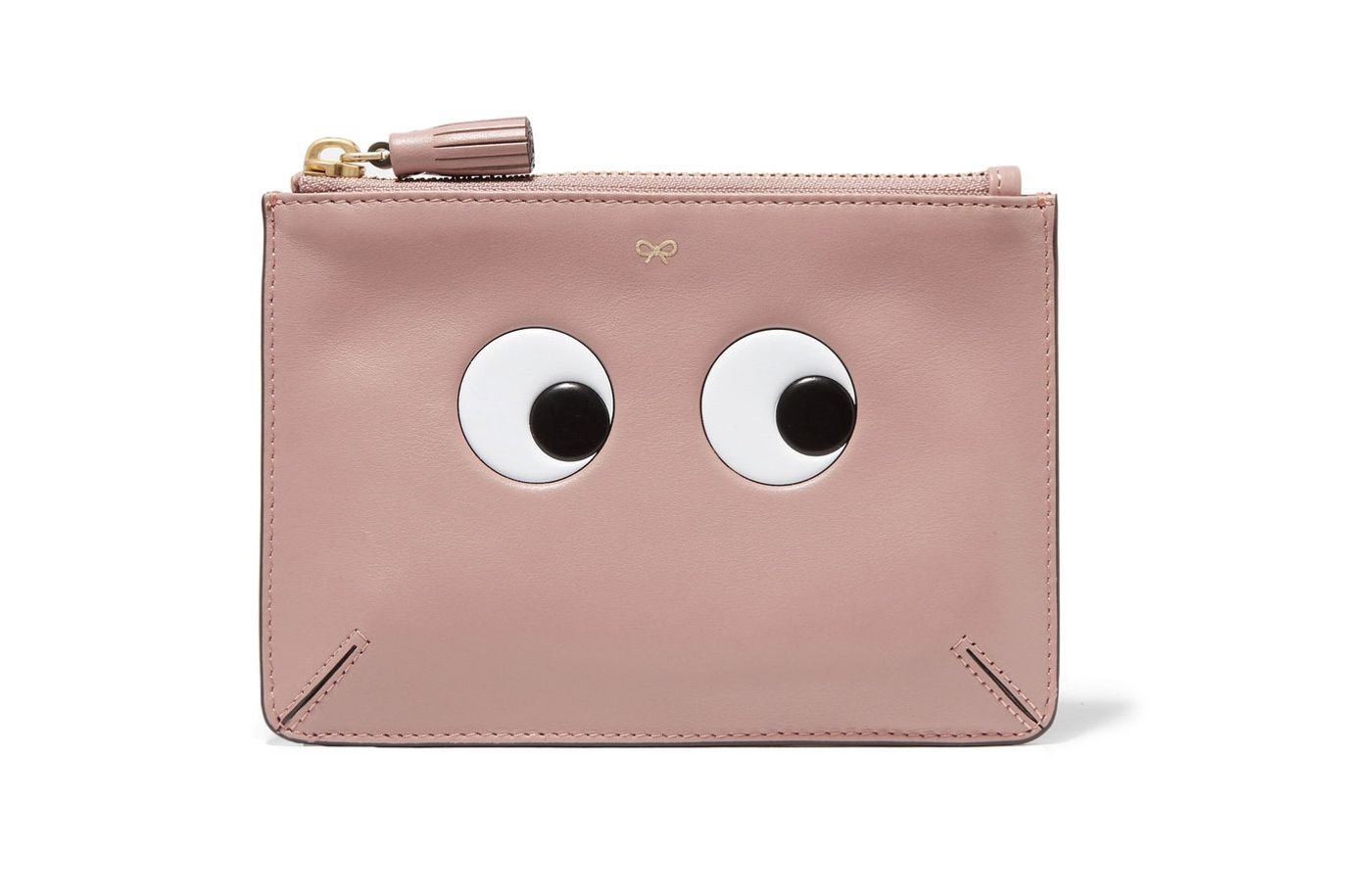 Anya Hindmarch Eyes Loose Pocket Leather Pouch