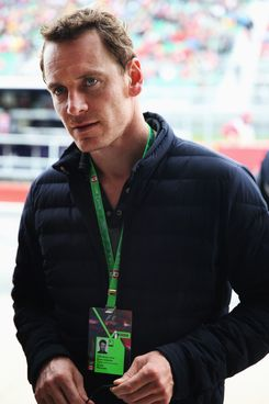 Actor Michael Fassbender attends the qualifying session for the Canadian Formula One Grand Prix at the Circuit Gilles Villeneuve on June 8, 2013 in Montreal, Canada.