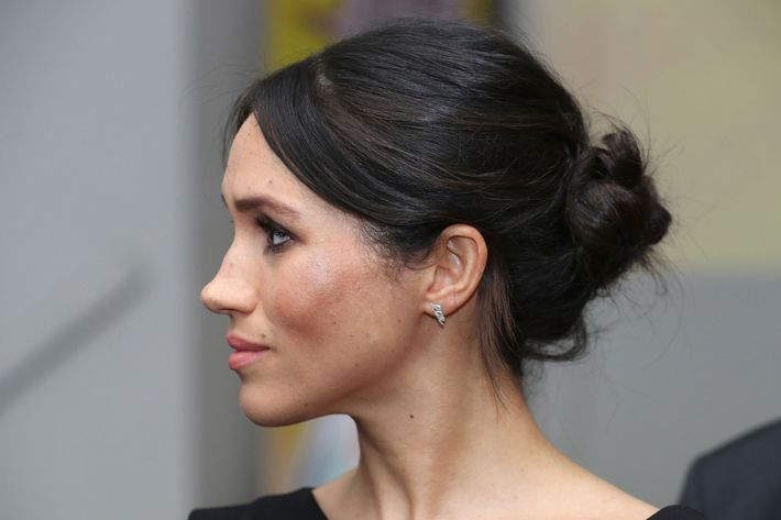 Meghan Markle Continues To Refine Her Messy Bun