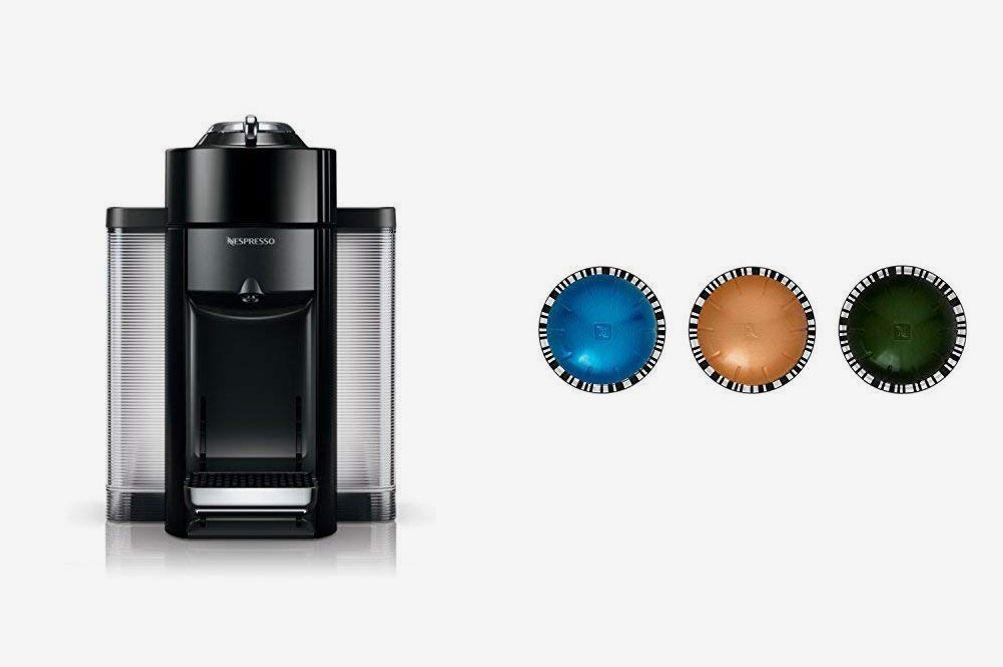 Nespresso Evoluo by De'Longhi, Black