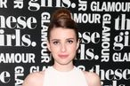 "NEW YORK, NY - MAY 20:  Actress Emma Roberts attends Glamour's presentation of ""These Girls"" at Joe's Pub on May 20, 2013 in New York City.  (Photo by Astrid Stawiarz/Getty Images for Glamour)"