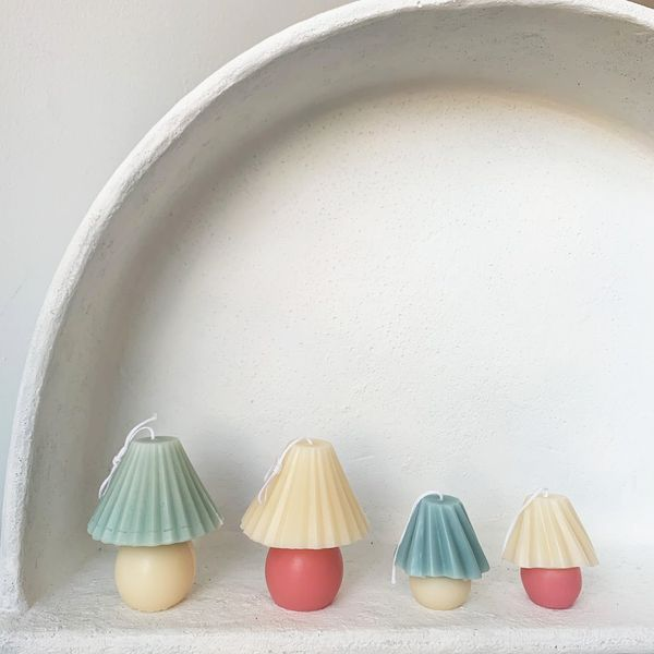 Yui Brooklyn Color Shade Table Lamp Candle