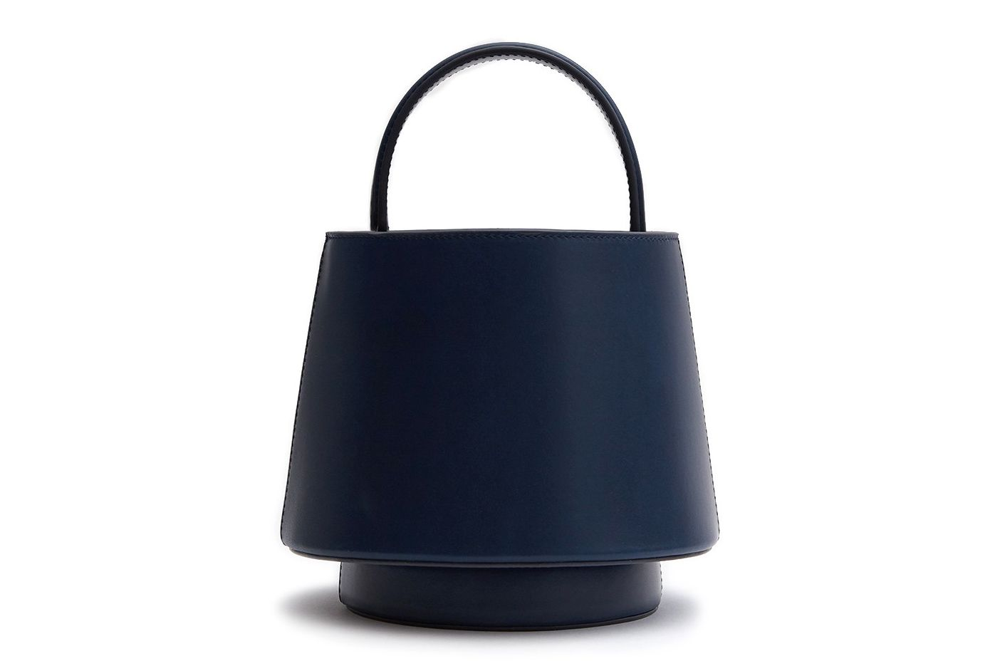Mlouye Lantern Bag in Navy