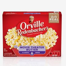 Orville Redenbacher's Movie Theater Butter Microwave Popcorn (6-Pack)