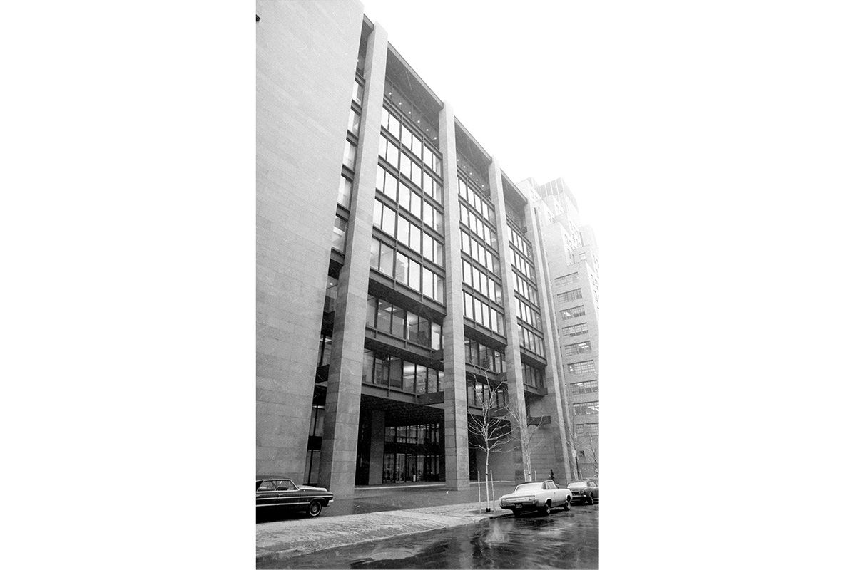 "<span class=""clay-designed kiln-phrase"">1968</span>Ford Foundation Building, soon after its opening."