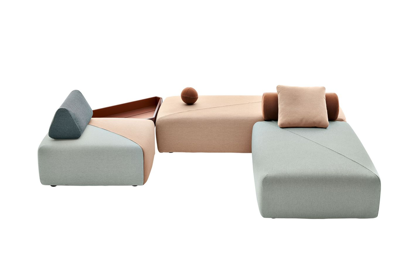 """BRIXX"" modular seating"