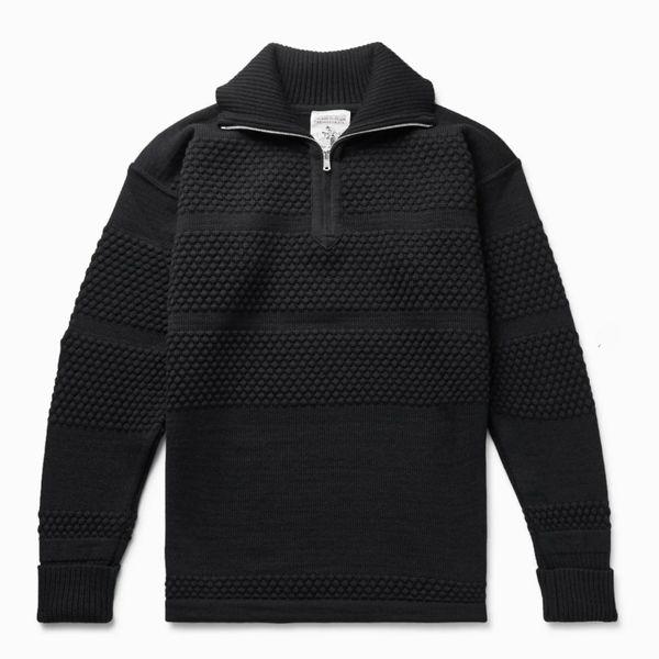 S.N.S Herning Virgin Wool Half-Zip Sweater
