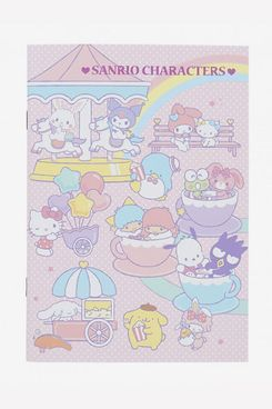 Kawaii Limited Japan Sanrio A5 Staple Notebook