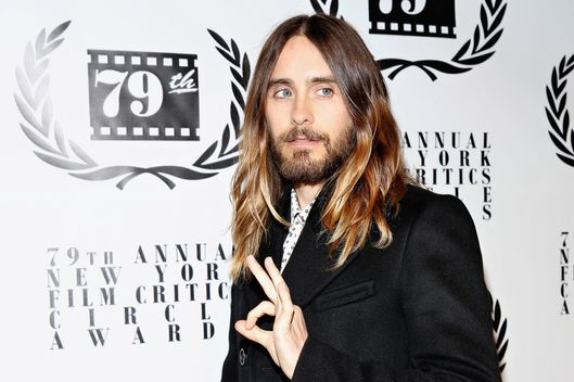 NEW YORK, NY - JANUARY 06:  Actor Jared Leto attends the 2013 New York Film Critics Circle Awards Ceremony at The Edison Ballroom on January 6, 2014 in New York City.  (Photo by Cindy Ord/Getty Images)