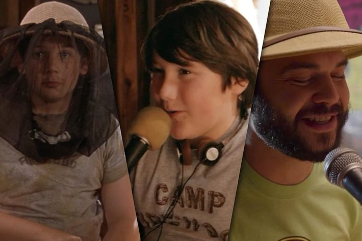 Wet Hot cycled through two different child actors, whose voices were both  dubbed by Samm Levine, in its two installments. Now, it finally gives us  Samm ...
