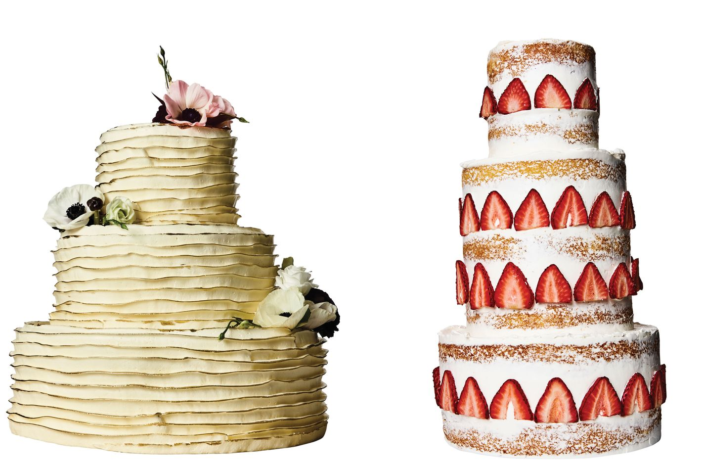 Delicate and Decadent Wedding Cakes