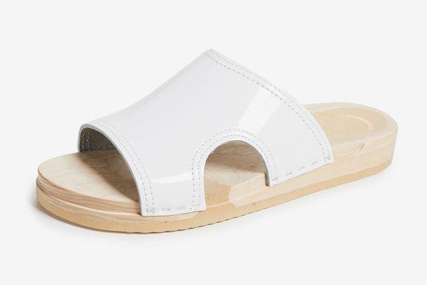 No.6 Alexis Cutout Flat Slides