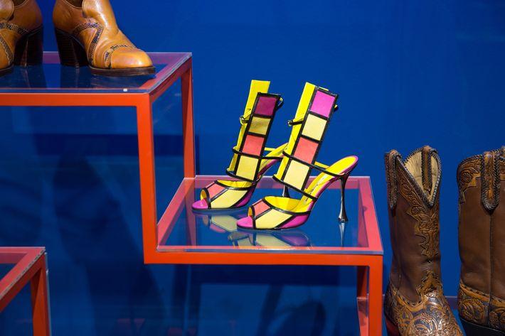 Manolo Blahnik 'Tendola' sandal, 2014.