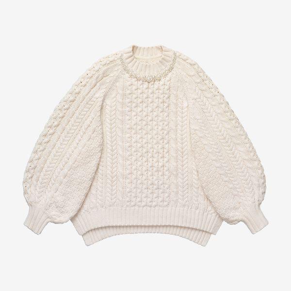 Simone Rocha x H&M Chunky-Knit Sweater