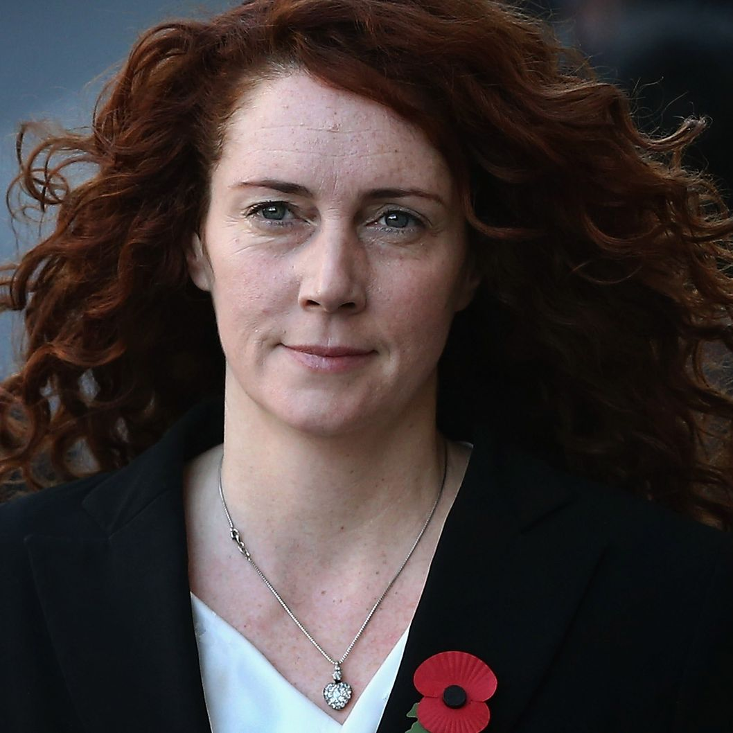 Former News International chief executive Rebekah Brooks arrives at the Old Bailey for the phone-hacking conspiracy trial on October 30, 2013 in London, England. Downing Street's former director of communications and News Of The World editor Andy Coulson and the former News International chief executive Rebekah Brooks, along with six others, face a series of charges linked to phone hacking celebrities and those in the news at the now-defunct newspaper.