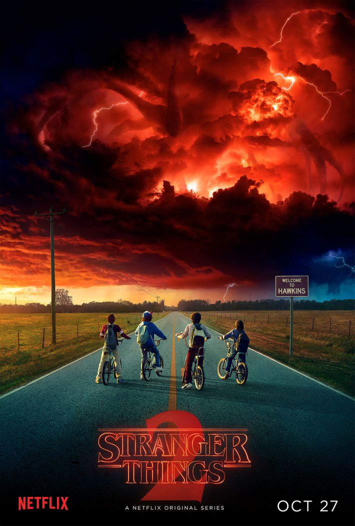 Image result for stranger things poster season 2