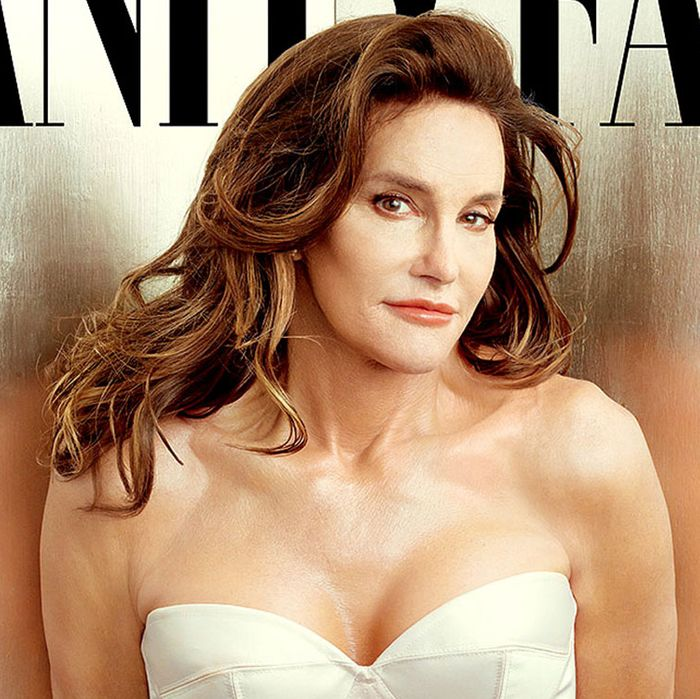 Caitlyn Jenner on the cover of <em>Vanity Fair</em>.