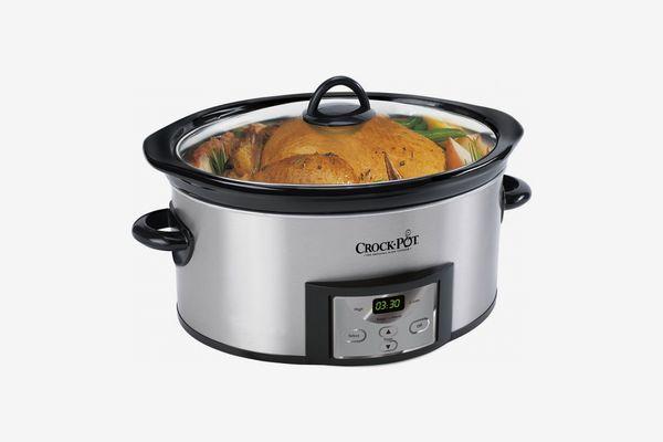 Crock-Pot 6-Quart Programmable Slow Cooker