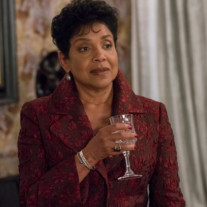 EMPIRE: Guest star Phylicia Rashad in the