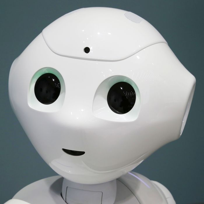 Pepper, a robot with feelings.