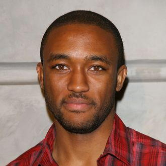 Lee Thompson Young arrives to the Los Angeles premiere of