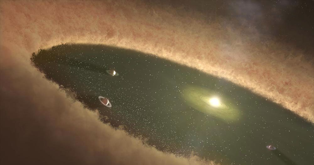 Astronomers Witness the Birth of Baby Planets for the First Time