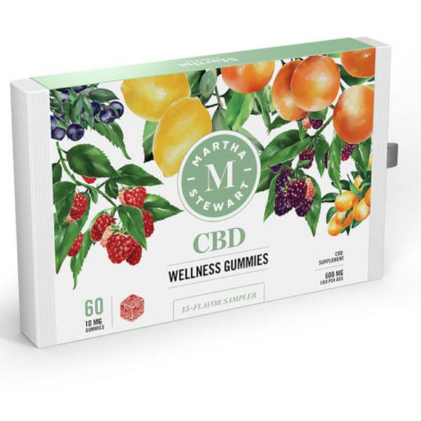 Martha Stewart CBD Wellness Gummies, 10 mg