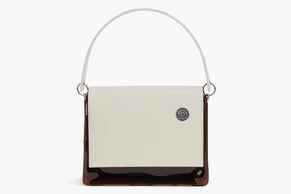 KARA Terra PVC Pinch Shoulder Bag