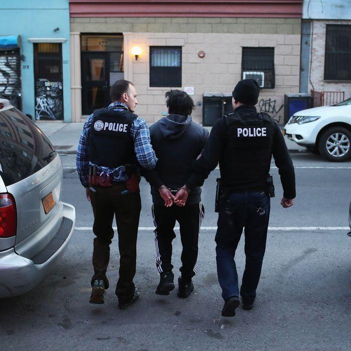 ICE Arrests of Non-Criminal Undocumented Immigrants Surge