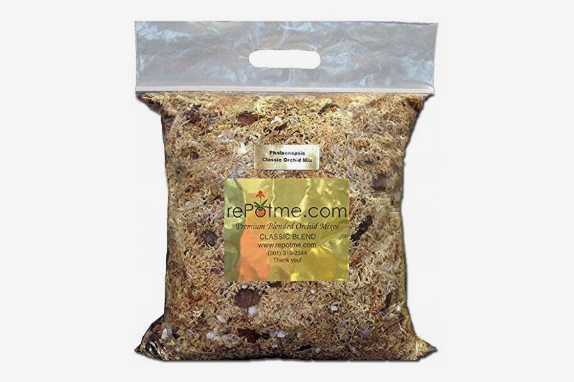 rePotme Phalaenopsis Gold Classic Orchid Mix - 2 Quarts (Mini Bag)