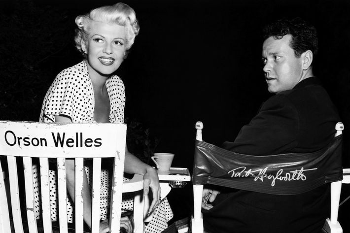 Orson Welles with Rita Hayworth in 1947.
