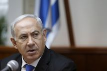 Israeli Prime Minister Benjamin Netanyahu attends the weekly cabinet meeting on February 17, 2013 in Jerusalem, Israel. Netanyahu made a statement reaffirming his trust in the Israeli security forces and asking that they be spared undue media attention, a response made in relation to the 'Prisoner X' affair in which the suicide in Ayalon Prison of an Australin immigrant to Israel is speculated to have been espionage related and with Mossad involvement.