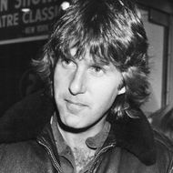 Musician Keith Emerson signing autographs for fans, November 11th 1987.