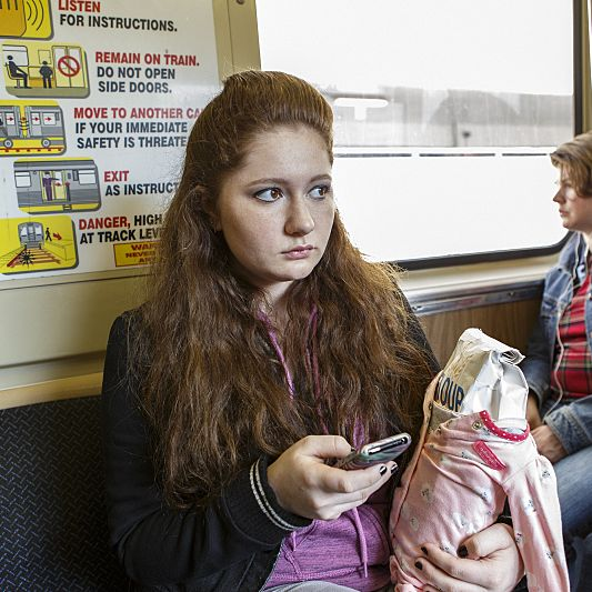 Emma Kenney as Debbie Gallagher.