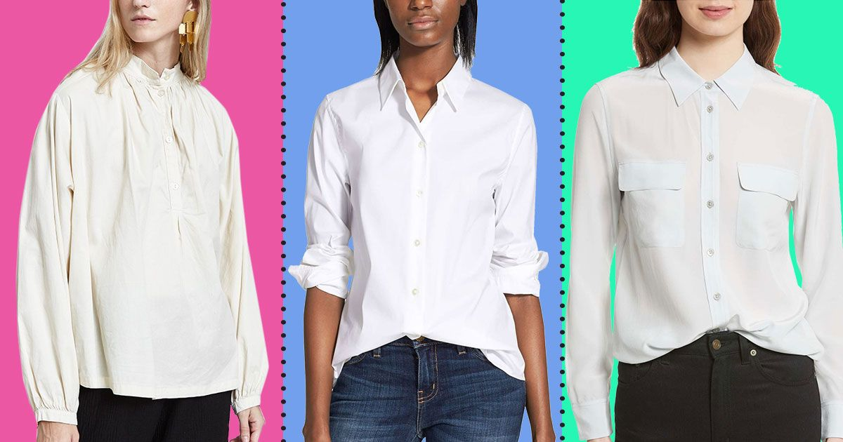 027c0b1d9b50 The Best White Button-down Shirts for Women