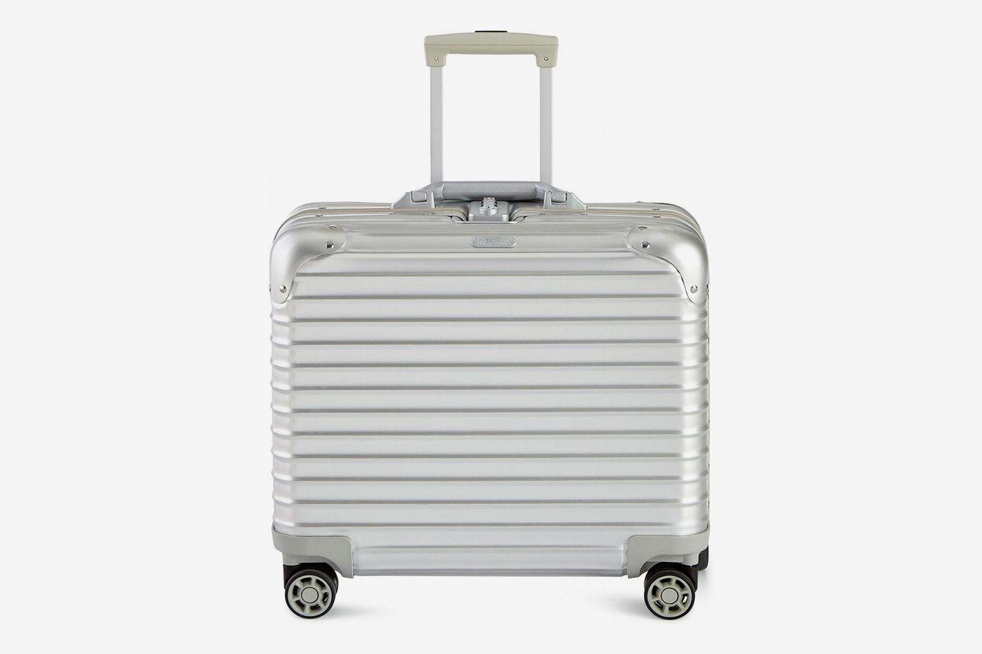 Rimowa North America Topas Silver Business Multiwheel Luggage