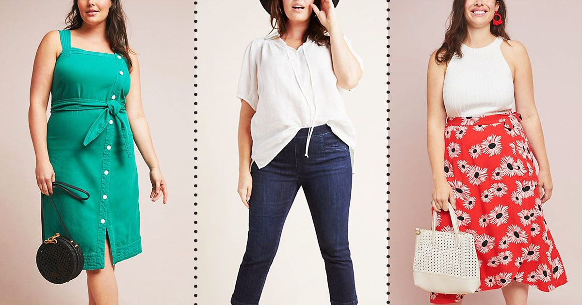 Lots of Stuff From Anthropologie's New Plus-Size Line Is on Sale