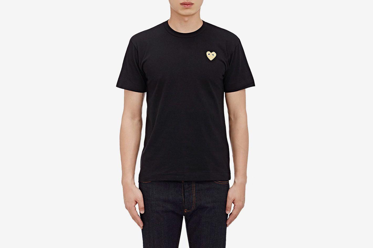 Comme des Garçons PLAY Appliquéd T-shirt